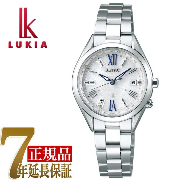 e82be3b808 セイコー ルキア SEIKO LUKIA レディダイヤ Lady Diamond チタン ソーラー 電波 腕時計 レディース 綾瀬はるか  SSQV053人気デザインのカラー追加。