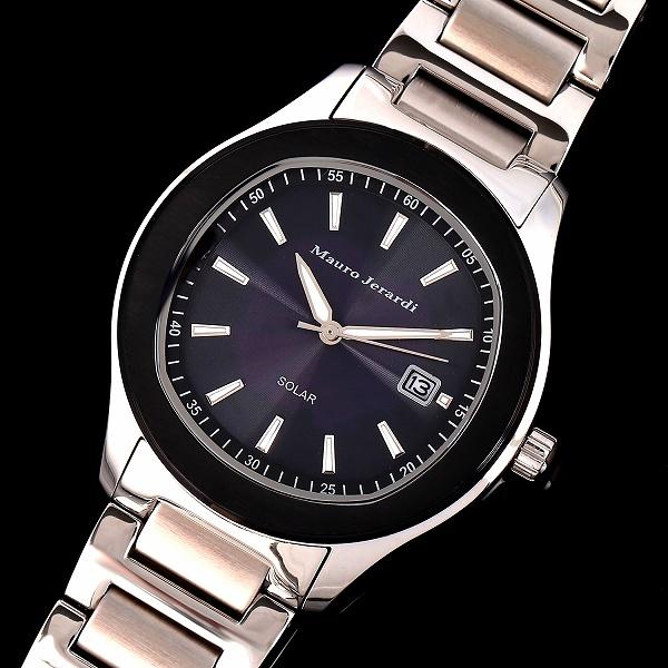 11167b0a84 Mauro Jerardi(マウロジェラルディ)から メンズソーラー腕時計モデルが登場しました。男性の幅広い年齢層からも人気があるデザインです。日常 生活にかかせない日常 ...