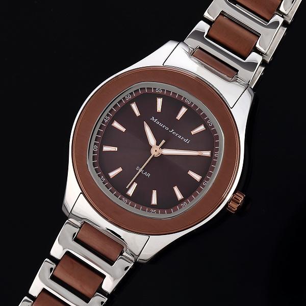 34ccdc2f86 マウロジェラルディMAURO JERARDI MJ054-4 ソーラー レディース 腕時計  MJ054-4イタリアブランドの「MauroJerardi」の腕時計です。デザインは定番かつ高級感があり、 ...