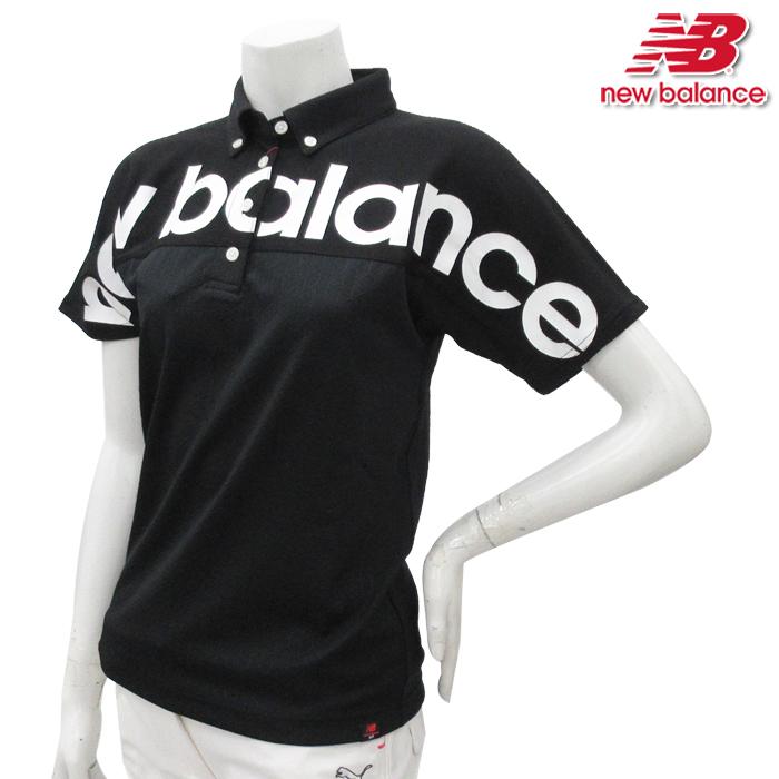 b3f8c76076ea1 【012-8168501】New Balance-ニューバランス- LADYS(レディース) マンホールJQビッグロゴ半袖ポロシャツ