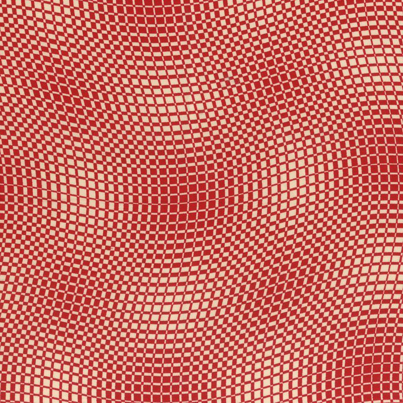 工作拼凑细工布料服小东西棉黑白格相间的花纹几何学花纹查对者红紫