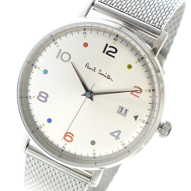 02062f881395 ポールスミス PAUL SMITH クオーツ メンズ ウォッチ 時計 シルバー イギリスで創立されたPaul Smith(ポールスミス )のコンセプトは「ひねりのあるクラッシック」。