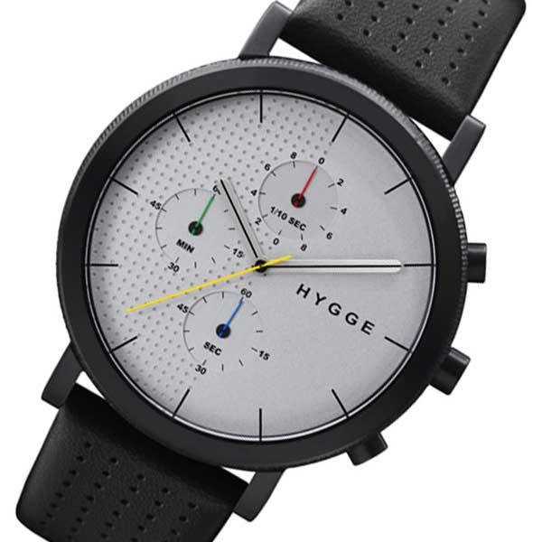 5e5bf55ce711 ピーオーエス POS ヒュッゲ レザー メンズ 腕時計 時計 MSL2204BCCH ホワイト 【ラッピング無料】