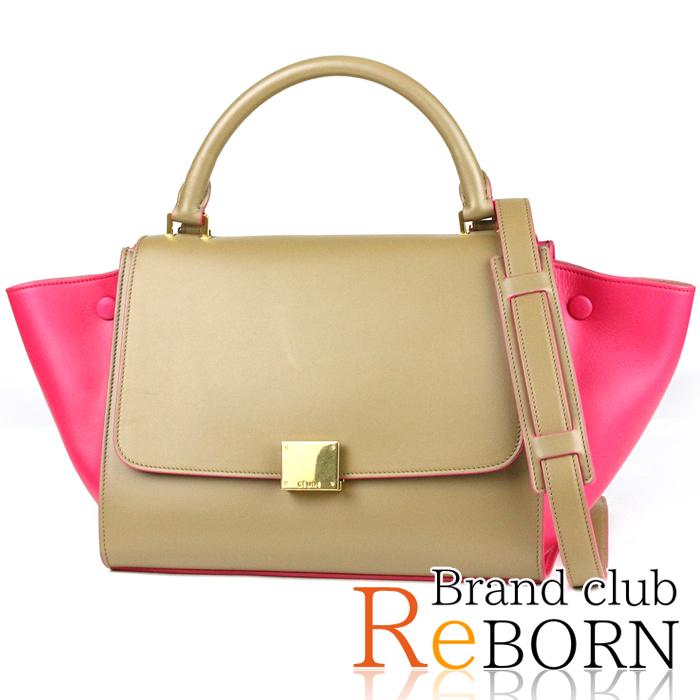 21ba53f8dbce ブランド名セリーヌ商品名トラペーズ スモール(2WAYハンドバッグ)商品ランクA+(良品) わずかな使用感しか感じられない 綺麗な商品種類?