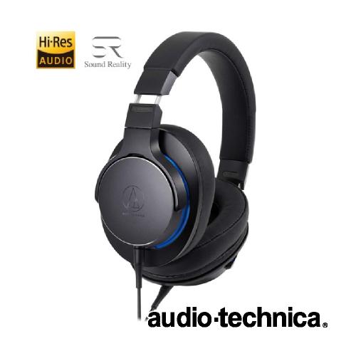 "d0c130e4255a23 ... モーション""ハイレゾドライバー ハイレゾ ポータブルヘッドホン オーバーヘッド(アウトドア) ブラック ATH-MSR7b BK audio-technica  オーディオテクニカ"