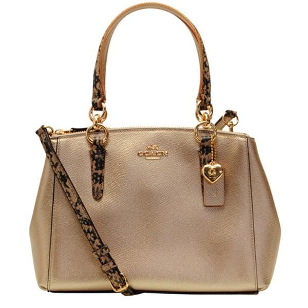 70ba8b53e3a1 COACH [ カバン ] コーチ 鞄キズがつきにくい上質なレザーに、シンプルなデザインの2Wayトートバッグです。ミニサイズながらも、開閉部はダブルファスナーになって  ...