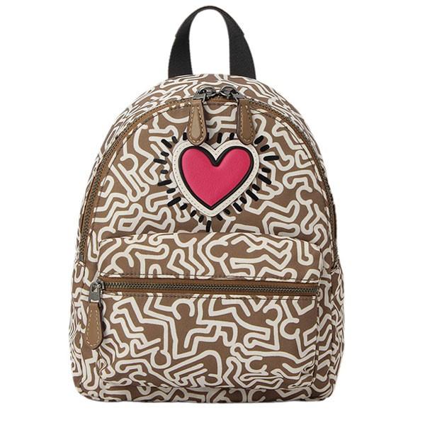 088cecf3fee8 COACH [ カバン ] コーチ鞄『Keith Haring×Coachコラボレーション』コーチからリュック サック入荷!小振りなのでちょっとしたお出かけにピッタリです!