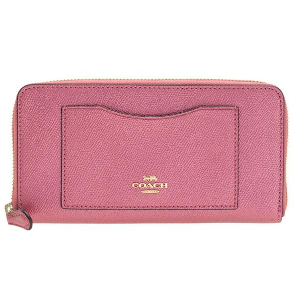 eab040811e15 コーチ/COACH [ サイフ ] 財布  定番のラウンドファスナー長財布は収納力も抜群、使い勝手もよく人気のデザインです。フロントのロゴがブランドアピールになり、 ...
