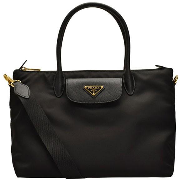 785418a46484 プラダ[カバン]PRADA鞄プラダから便利な2way斜め掛けトートバッグが登場です。PRADA▽プレートがポイント!