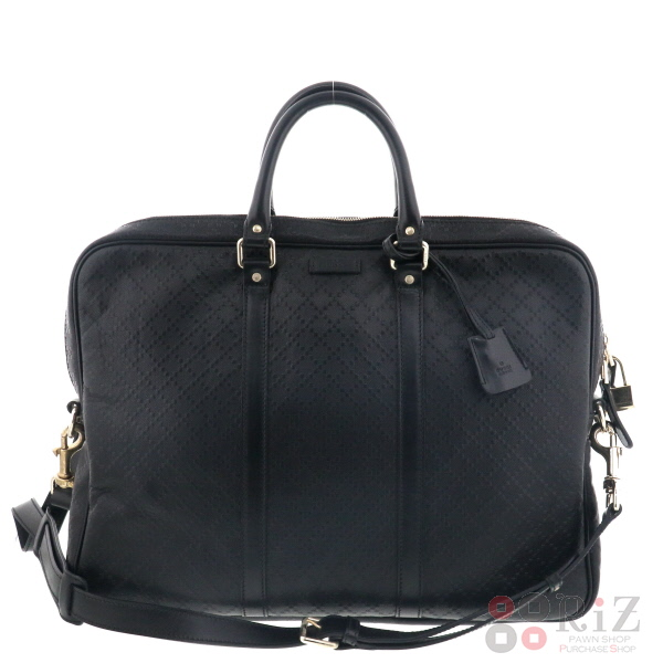 a48d9cd89af8 ... GUCCI (グッチ) · 2WAY バッグ ビジネスバッグ/ブリーフケース · Black/ 208463 used:A  【新入荷商品】【即日発送】【】·梱包対応 GUCCI · · 2Way PVC · 黒