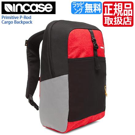 f6f33cc063ad Incase Primitive P-Rod Cargo Backpack (インケース プリミティブ Pロッド-ポール・ロドリゲス カーゴバックパック)  CL55553 B級品(未使用新品ですが工場出荷時からの ...