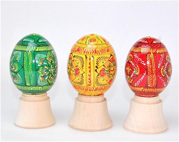 俄罗斯的土特产复活节彩蛋几何学花纹