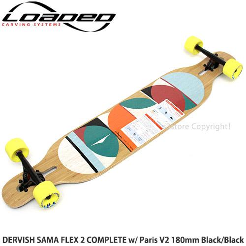 by Loaded Pro Build Loaded Dervish Sama Flex-2 Complete Longboard