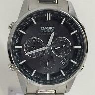 0e68bf81fd 【】CASIO カシオ メンズ腕時計 リニエージ クロノグラフ 電波ソーラー LIW-M700[jggW] 【美品】