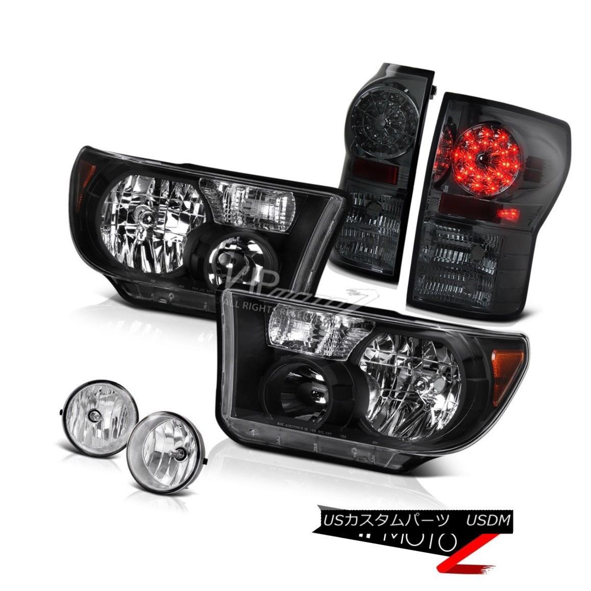Headlight Tail Light Lamp LH RH Front Rear Kit Set of 4 for Chrysler Mini Van