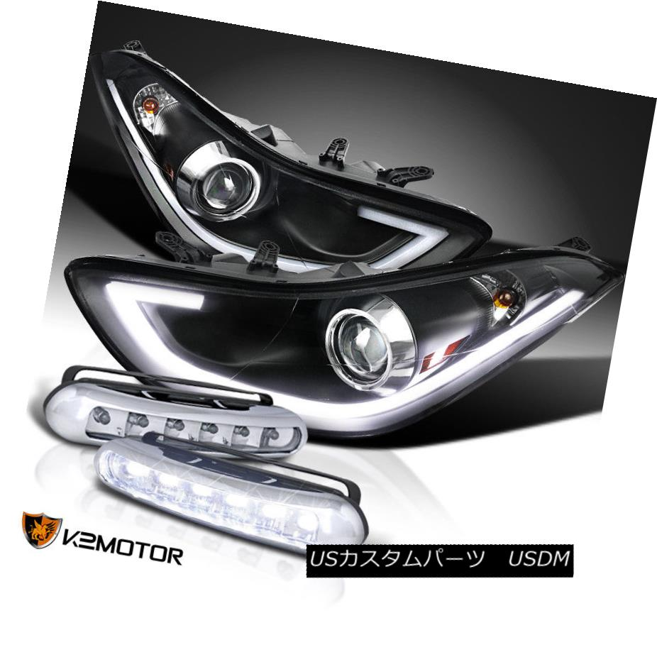 Spec-D Tuning 2LHP-HTRA11JM-TM Black Projector Headlight Housing