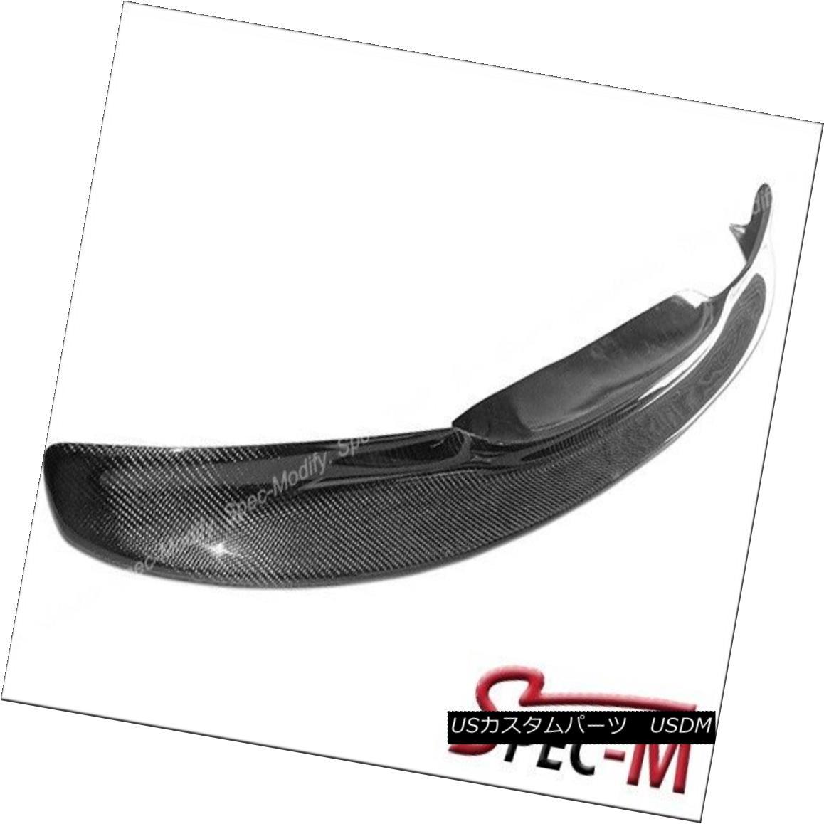 CSL Style Carbon Fiber Front Bumper Spoiler Lip For BMW 2001-2006 E46 M3 Only