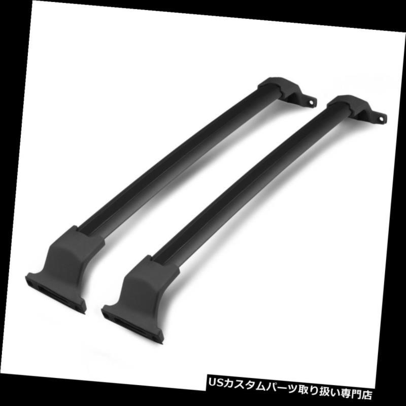 Fits 16-18 Honda Pilot Factory Style Aluminum Top Roof Rack Cross Bar Black