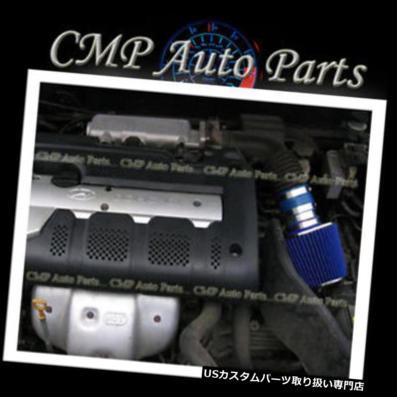 BCP BLUE 03-07 Honda Accord LX EX 3.0L V6 Short Ram Air Intake Filter