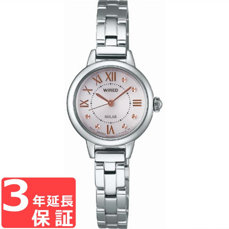 4df208ef3ba8 ... ラッピング   セレクトショップクロス   セイコー   腕時計 メンズ   SEIKO セイコー WIRED ワイアード ソーラー レディース  腕時計 ブランド AGED094 正規品