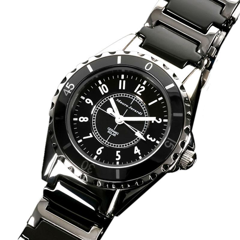 d987fb4b59 ワンランク上の大人のためのエレガント腕時計。Mauro Jerardiから レディースソーラーモデルが登場!  ステンレスとセラミックのコンビネーションに仕上がりました。