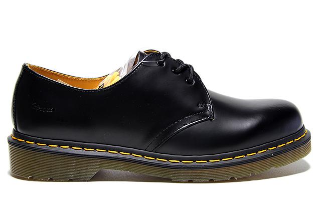 martens 3eye 吉布森鞋 1461年 11838002 光滑黑色博士马丁 3 眼
