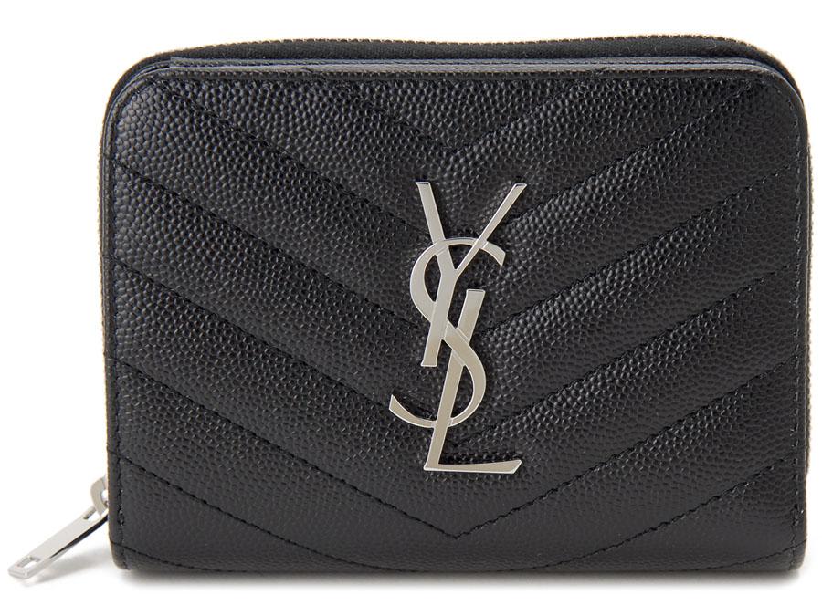 364ed113643f カテゴリ:二つ折り財布、レディース□カラー:BK/SV ブラック×シルバー□素材:レザー□サイズ:高さ10cm×横幅12cm×奥行き3cm