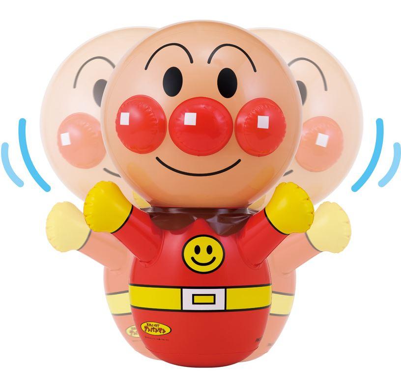 不要的蓬松乙烯玩具!在anpanman娃娃软空气膨胀玩具新有趣!玩具船螺旋桨v乙烯图片