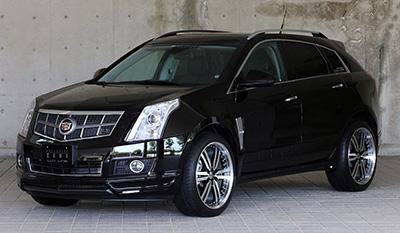 For 2004-2009 Cadillac SRX Hart Brakes Front Rear Semi-Metallic Brake Pads