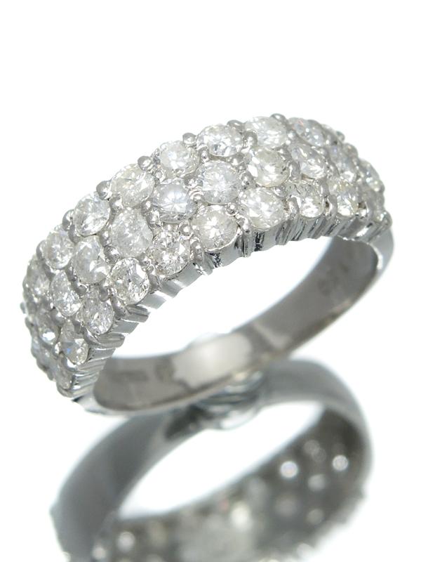 4a694e3fdd2c セレクトジュエリー『PT1000リング ロレックス ダイヤモンド1.50ct』12号 ...