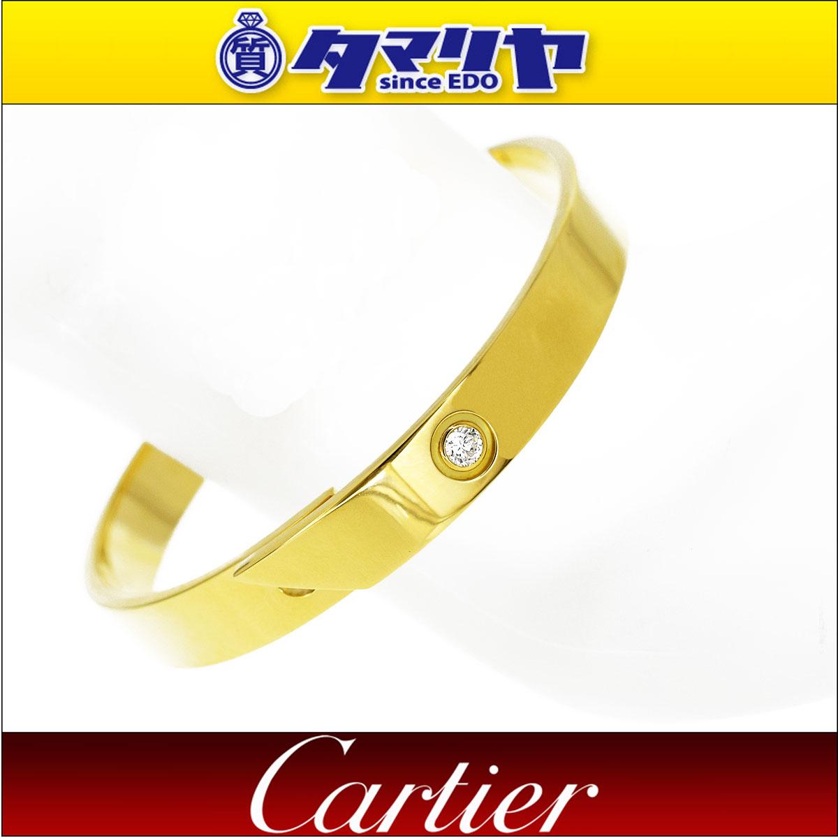 2dcc34426fc0 ... gucci | Cartier カルティエ ダイヤ アニバーサリー バングル 16cm K18 750 YG イエローゴールド 1997 |  送料無料 | き手数料無料 | レディース ブレスレッド ...