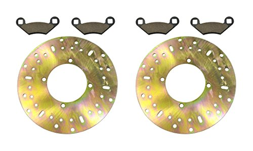 2003-2004 Polaris Magnum 330 4x4 HDS Front and Rear Brake Rotor Disc