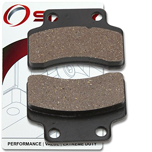 フロント & (海外取寄せ品) Rear Brake Pads Polaris Sportsman XP 850 EPS 2009 2010 2011 2012 2013