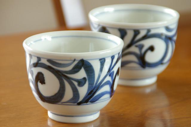 阿拉伯式花纹设计杯 (小)