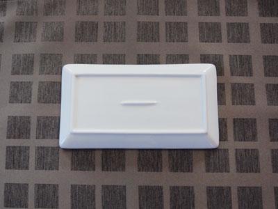 白色20cm长正方形板