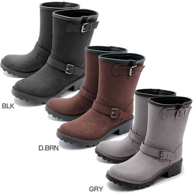 milady_miredi milady女士技术员雷恩长筒靴休闲鞋雨鞋ml167