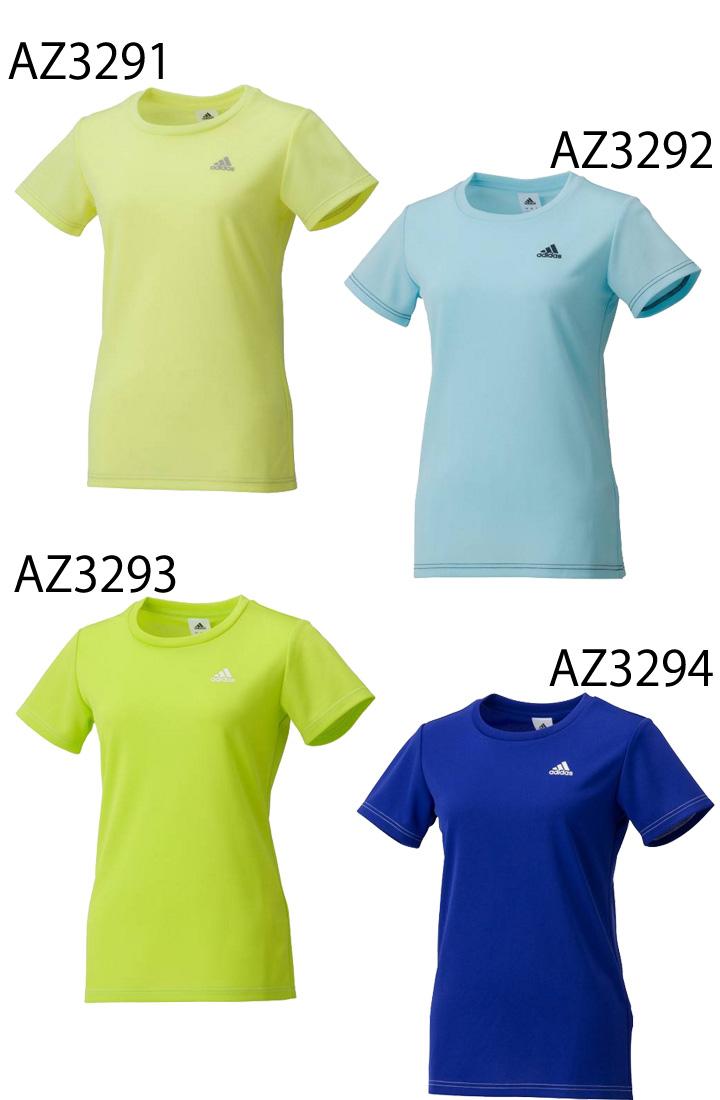 阿迪达斯阿迪达斯/sk ss 三通 w1 女士提示标志短袖 t 衬衫跑步健身瑜