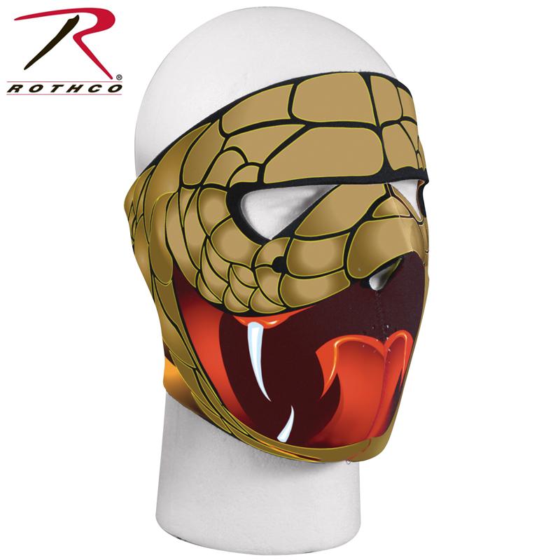rothco / rothco 可逆口罩眼镜蛇眼镜蛇军事脸面具面部保护运动生存
