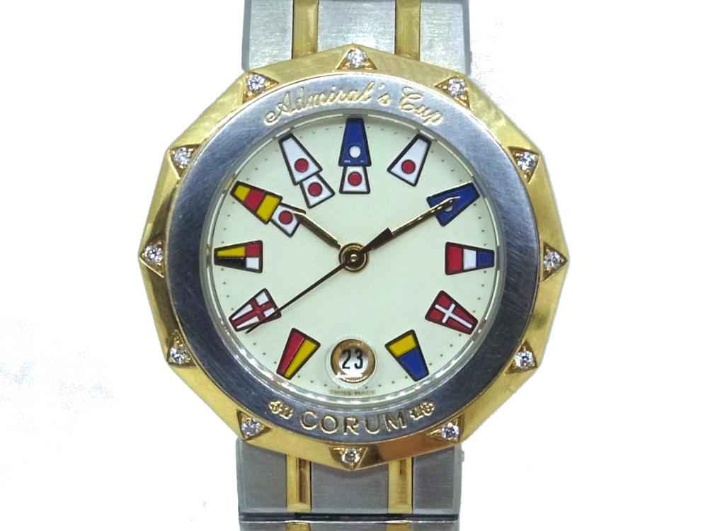 size 40 372ab 00c6c USED】 コルム - CORUM 腕時計 - BVLGARI アドミラルズカップ ...