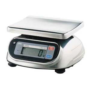 業務用はかり 防水・防塵デジタルはかり SL-5000WP 秤量5kg デジタルスケール 取引証明可 A&D