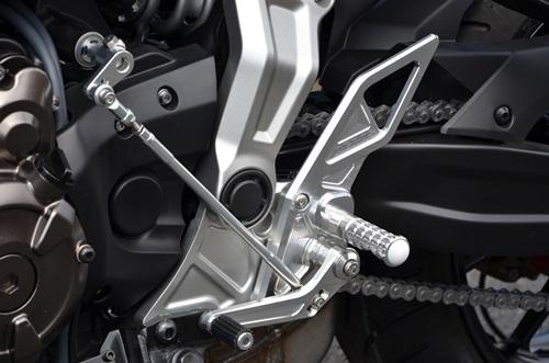 AGRAS バイク用品 アグラス バックステップ MT 07:ウェビック