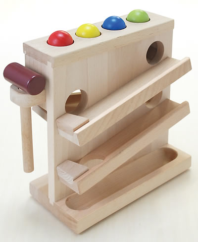 Cognitive Education Toy Gift 1 Year Old To Swat A Woodenness Tree
