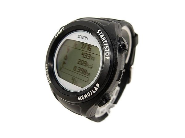 2b0d1976d8 【】 EPSON エプソン SF-110B WristableGPS リスタブル ブラック 腕時計 ランニングウォッチ S3279703