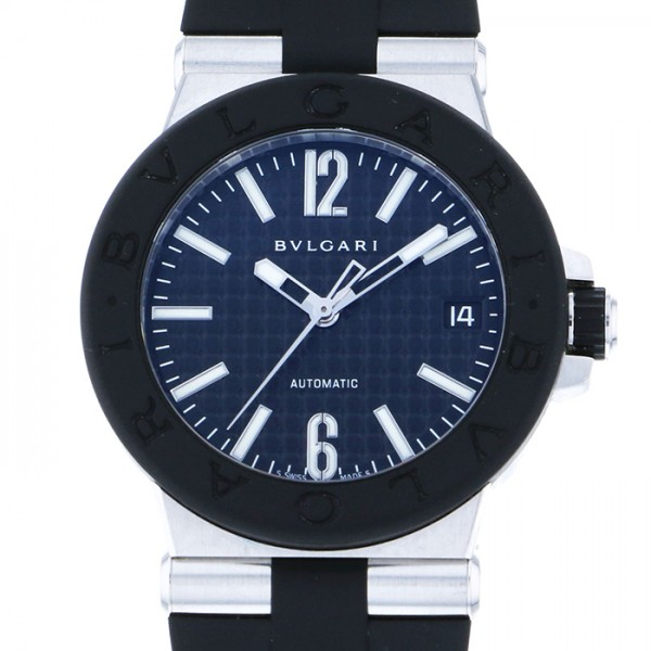 099576c654bb ブランドブルガリ商品名ブルガリ BVLGARI ディアゴノ DG35BSVD 腕時計  メンズ型番DG35BSVD文字盤ブラック素材ステンレスサイズケースサイズ: 35.0mmムーブメント自動 ...