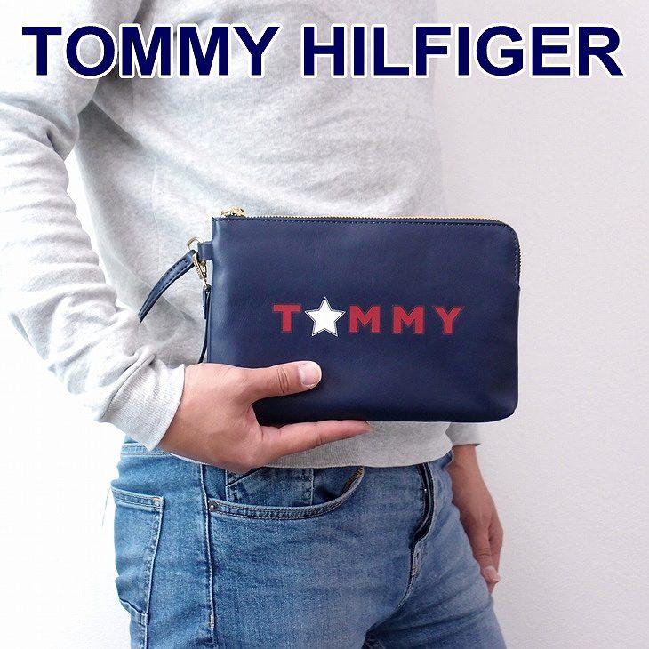515e7b5569f9 トミーヒルフィガー(TOMMY HILFIGER) これはイケてます。都会派クラッチバッグ。