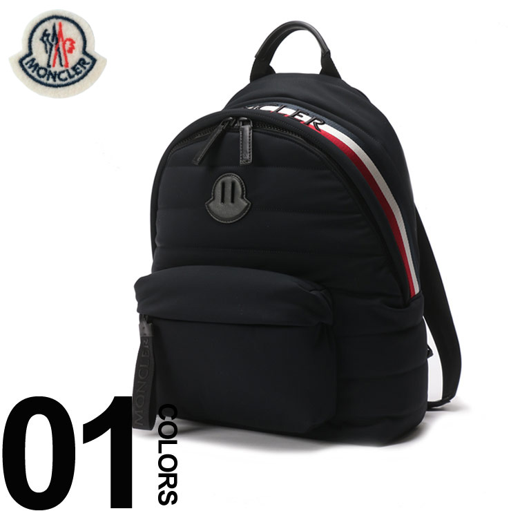 2181537b33a2 モンクレール MONCLER リュックサック トリコロール ロゴ バックパック ブランド メンズ バッグ 鞄 デイパック キルティング  MC0062800539AX MONCLER モンクレール ...