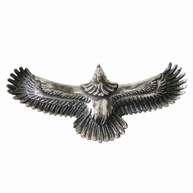 イーグルペンダント(2)銀 ネイティブアクセサリー シルバー925 銀製メンズ レディース ネックレス フェザー 鳥 パーツ 動物 aft