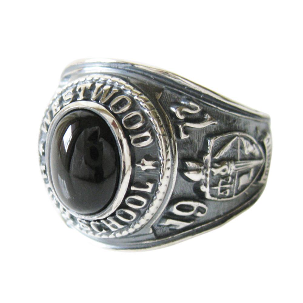 指輪 リング シルバー925銀 カレッジリング(16)BSメイン 天然石 パワーストーン 指輪 リング シルバー925製 銀 アクセサリー メンズ 送料無料 おしゃれ ホワイトデー お返し