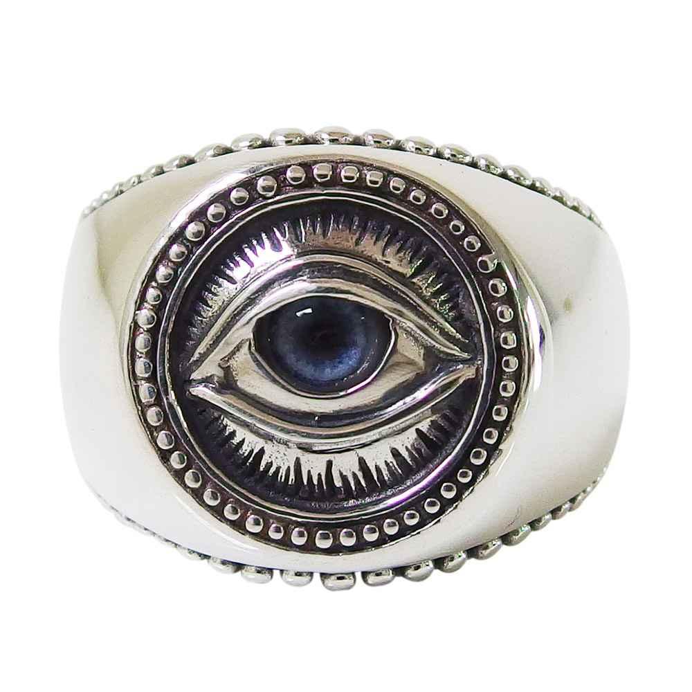good vibrations(GV)プロビデンスの目の指輪(4)義眼 メイン フリーメイソン 義眼リング プロビデンスの目のリング シルバー925製銀 メンズ goodvibrations 送料無料 おしゃれ