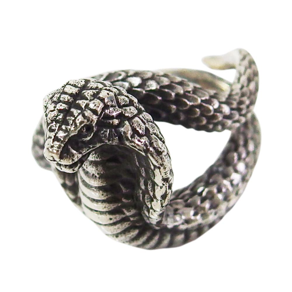 good vibrations(GV)コブラの指輪(1)14号フリーサイズ 動物 蛇 ヘビ リングネックレスシルバー925 銀 メイン goodvibrations 送料無料 おしゃれ